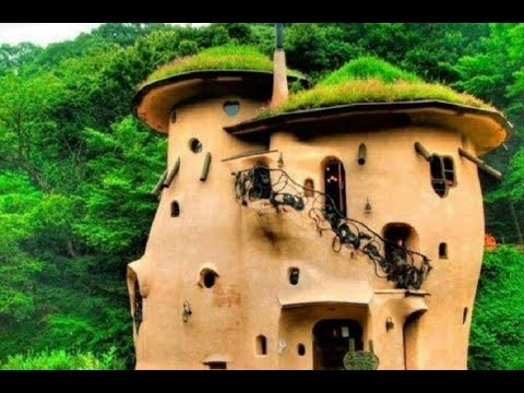 The Most Beautiful Green Cob Houses Unique Ideas! World Best Top 35 Cob Homes Interior Design Ideas