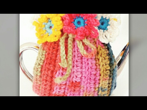 Very easy crochet tea cozy part -1