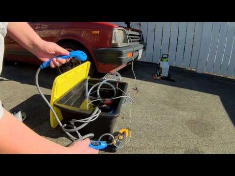 DIY Camp Shower Heat Exchanger