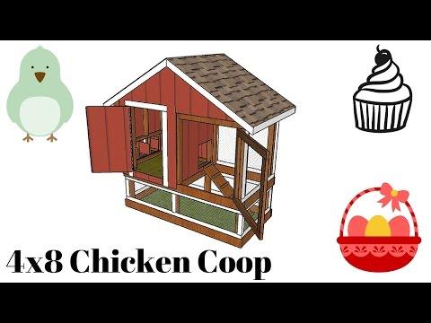 4x8 Chicken tractor plans
