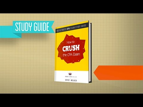 CPA Study Guide: How To CRUSH the CPA Exam [LIKE I DID!]