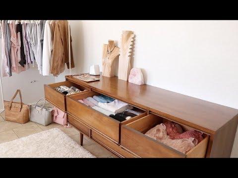 Fall Declutter Begins: Wardrobe & Dresser Organization