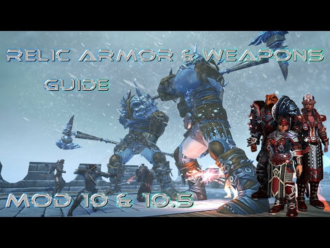 Neverwinter - Relic Armor & Weapons Guide