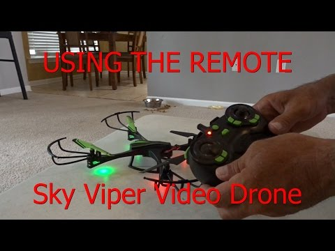 How To Fly / Hover a Drone - Quadcopter - Helicopter Sky Viper v950 STR