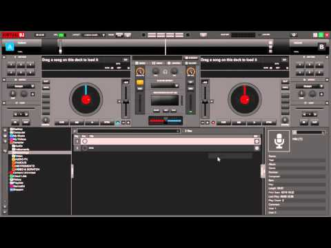 How to record your own voice into Virtual Dj 8