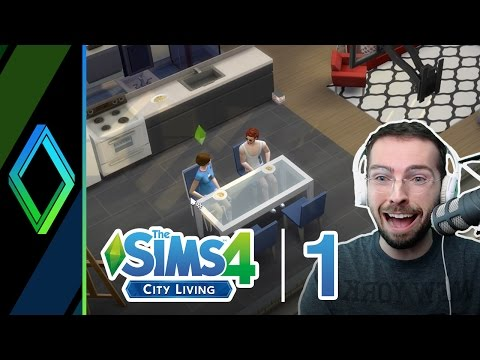 The Sims 4 City Living / Dine Out | Part 1