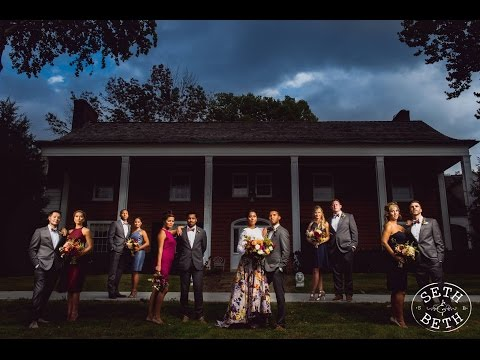 Spencer and Leslie's Barn Wedding at Little Brook Meadows by Seth and Beth