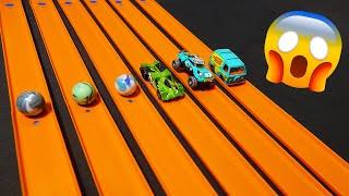 Epic Marbles vs. Hot Wheels Drag Race Tournament (Season 9 Premiere)