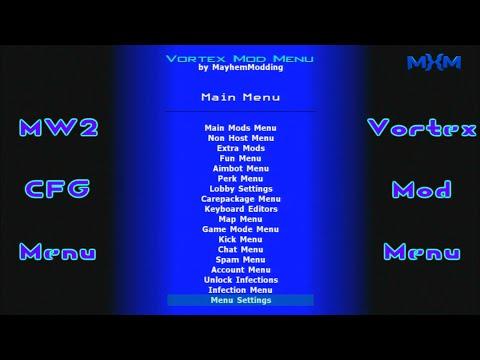Mw2 CFG [Backup + Patch] Vortex Mod Menu - playithub com