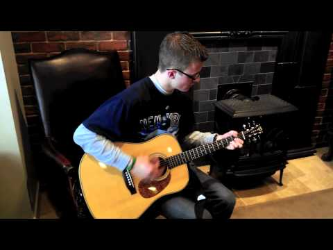 Nick Guitar Cover—Wanted Dead or Alive Filmed on an iPhone