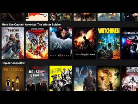 Australian Netflix on iPad