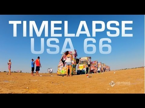 Timelapse USA 66 - Timelapses From an American Roadtrip Across the Country on Route 66