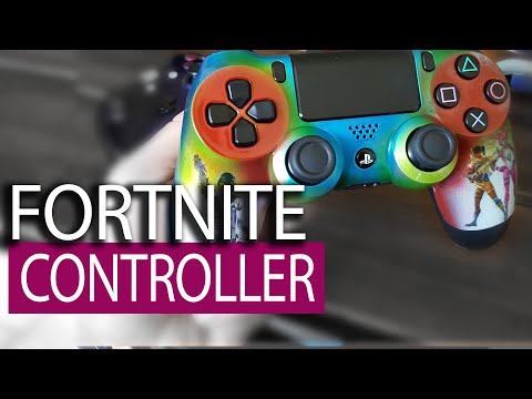 Painting a Custom Fortnite PS4 Controller