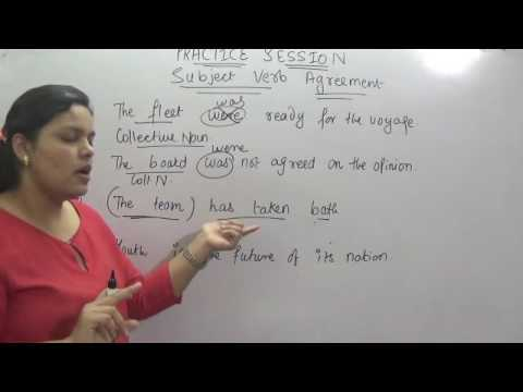 SUBJECT VERB AGREEMENT PRACTICE SESSION FOR SSC CGL CHSL IBPS CAT CLAT IPM