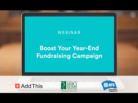 WEBINAR: How to Boost Your Year-End Fundraising Campaign