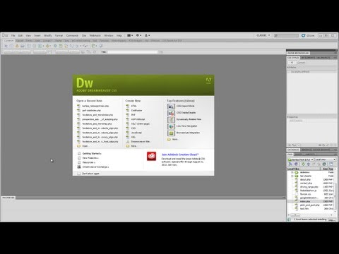 Dreamweaver Tutorial - Part Eleven - Naming Navigation, Adding Meta Tags and a Favicon