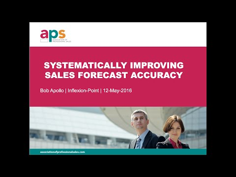 Systematically Improving Sales Forecast Accuracy