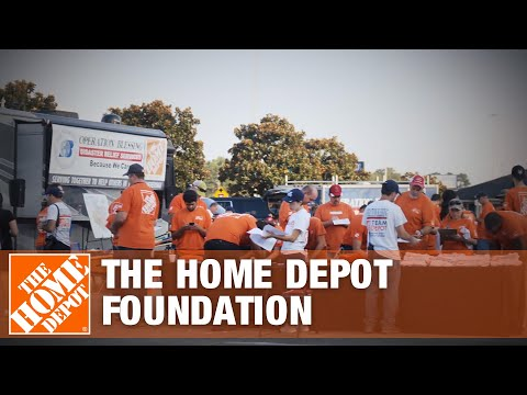 The Home Depot Foundation Harvey Response