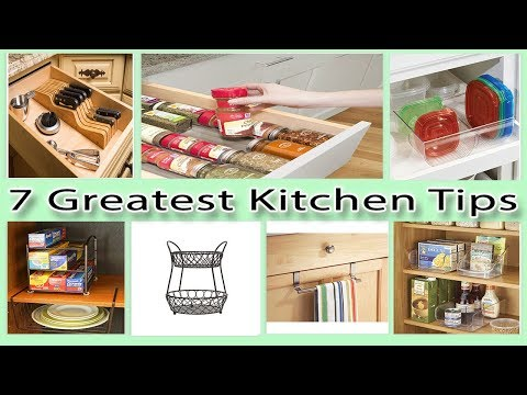 7 Greatest Kitchen Tips