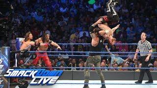 Styles, Nakamura & Zayn vs. Owens, Corbin & Ziggler: SmackDown LIVE, June 13, 2017