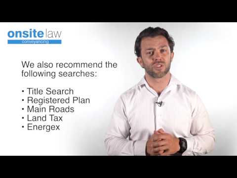 Why is it important to get a property search? // Onsite Conveyancing Sunshine Coast