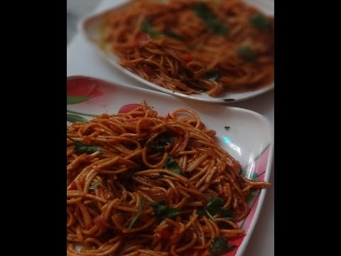 Chowmein (very quick and easy recipe) - Chowmein Recipe in Indian Style