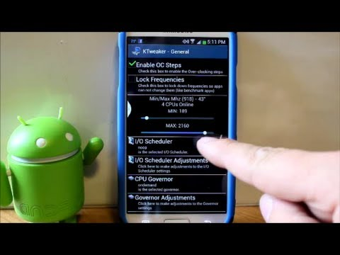 Galaxy S4 CPU overclock to 2.3GHZ with a custom kernel