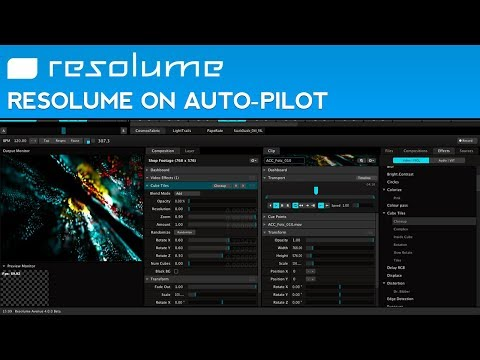How to Automate Video Mixing in Resolume