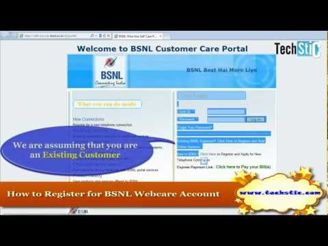 How to View BSNL BroadBand Usage Details