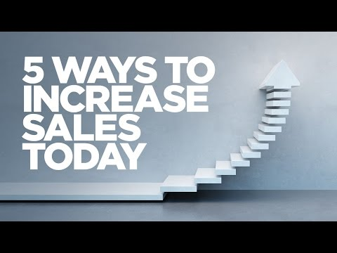 5 Ways to Increase Sales Today - Young Hustlers