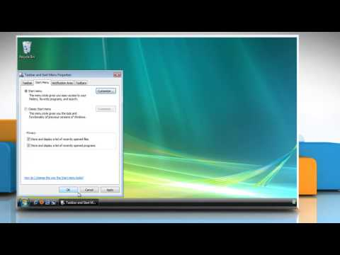 Right-click menu missing in the Start Menu of Windows® Vista