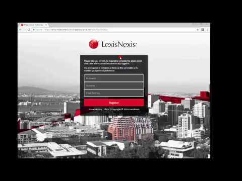 How to find a case using LexisNexis South Africa