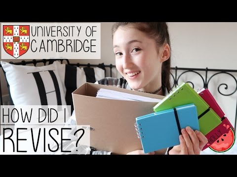 REVISION TIPS, TRICKS + ADVICE FOR EXAMS FROM A CAMBRIDGE UNIVERSITY STUDENT | GCSE + A-LEVELS