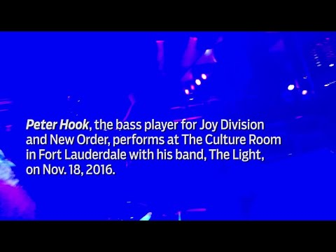 Video: Peter Hook performs at The Culture Room
