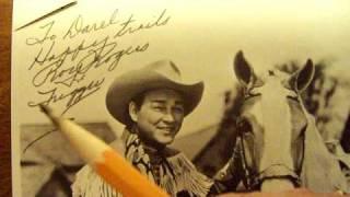 Roy Rogers Autograph Part1