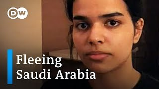 Asylum-seeking Saudi teenager aided by United Nations | DW News