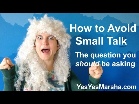 How to Avoid Small Talk - Networking Tip