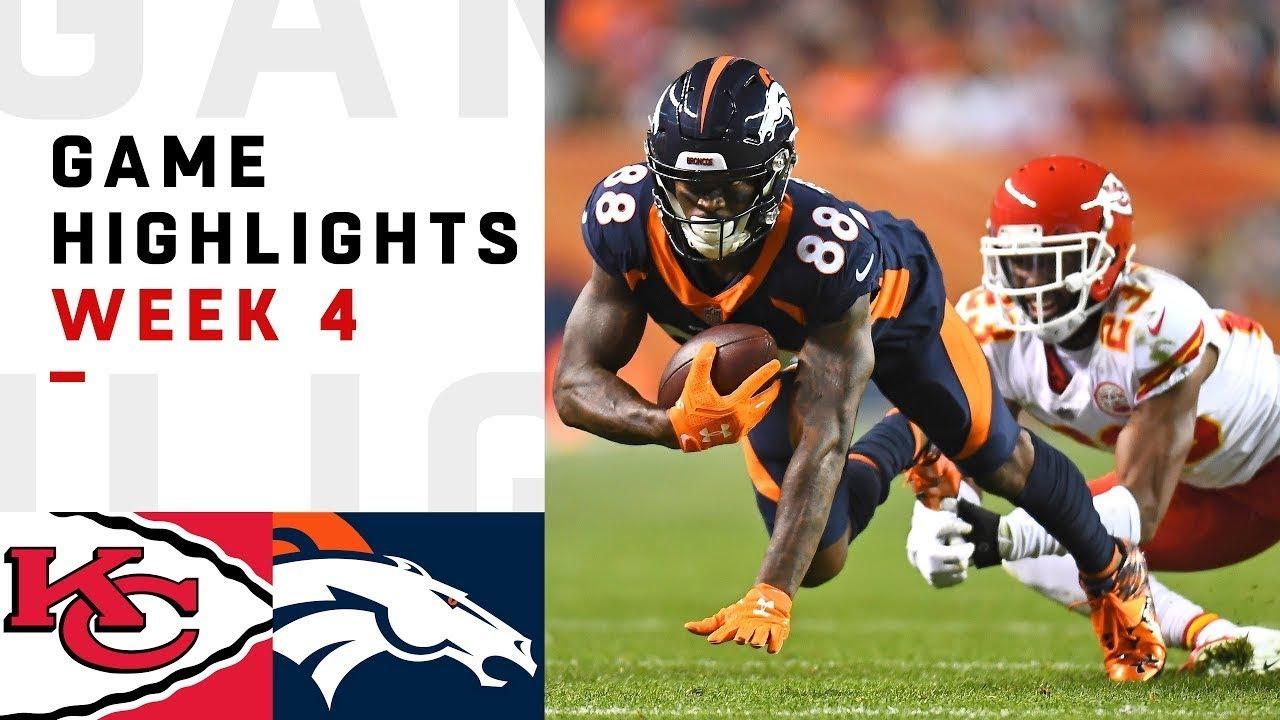 Mahomes Leads EPIC Comeback   Chiefs vs. Broncos 2018 NFL Highlights