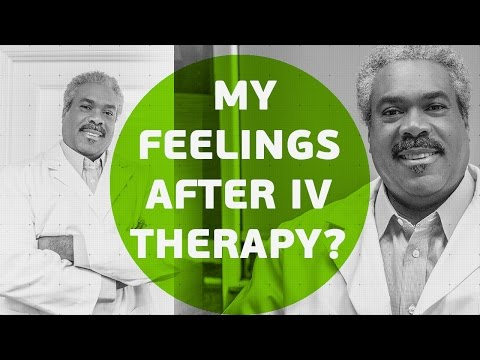 How can I expect to feel after IV therapy?