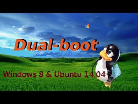 Dual-boot Ubuntu 14.04 & Windows 8 en Francais