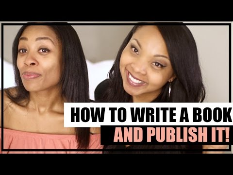 How to Write and PUBLISH Your Book!