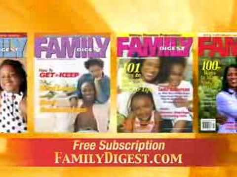 FREE MAGAZINE SUBSCRIPTION - Family Digest