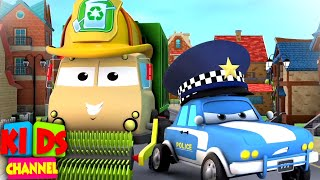 March On : Road Rangers Cartoons | Nursery Rhymes for Children - Kids Channel