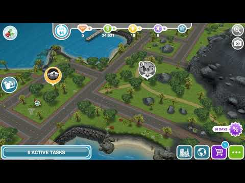 The Sims Freeplay - Need For Steed / Spot The Overgrown Stables
