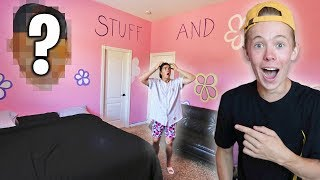 WORST SURPRISE BEDROOM MAKEOVER EVER!! *HE WAS PISSED*