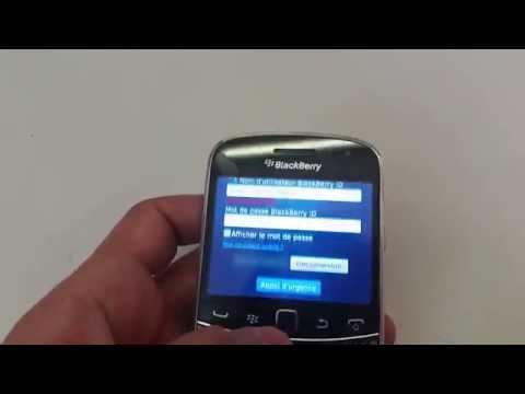Reset Blackberry Bold 9900 BlackberryID Hard Reset
