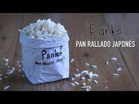 Como hacer Pan rallado estilo Japonés