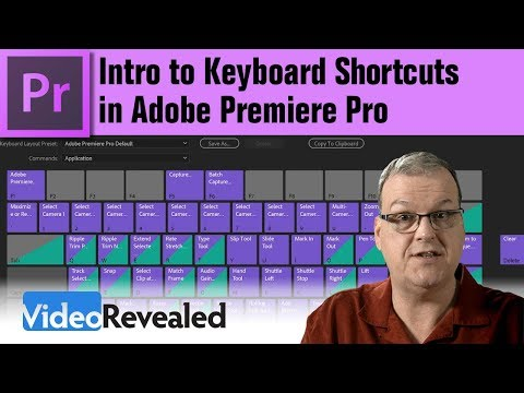 Intro to  Keyboard Shortcuts in Adobe Premiere Pro
