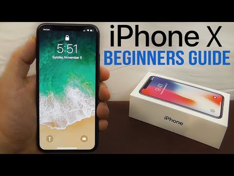 iPhone X – Complete Beginners Guide