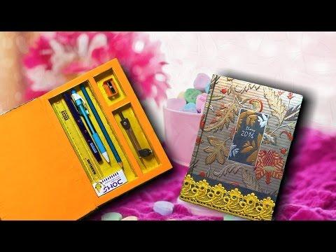 DIY school supplies || How to Make a Pencil Case || Convert a Old Diary into Pencil Case